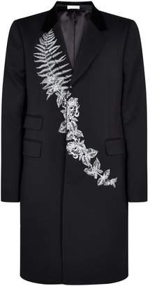 Alexander McQueen Embroidered Overcoat