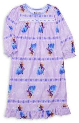 AME Sleepwear Little Girl's & Girl's Frozen 2 Night Dress