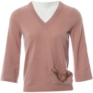 Louis Vuitton Pink Cashmere Knitwear
