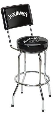 "Jack Daniels 30"" Swivel Bar Stool Jack Daniel's Lifestyle Products"