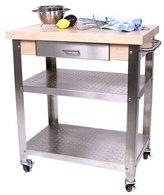 John Boos Cucina Elegante Kitchen Cart #CUCE30