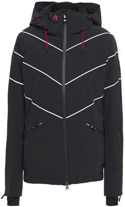 Perfect Moment Chamonix Quilted Printed Shell Hooded Ski Jacket