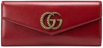 Gucci Broadway Evening Leather Clutch Bag