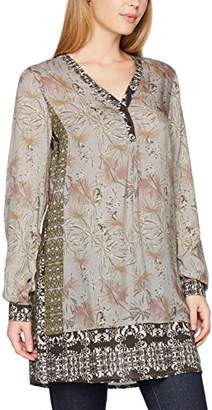 Pippa Cream Women's Tunic Blouse,6
