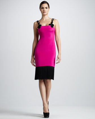 Notte by Marchesa Rope-Strap Cocktail Dress