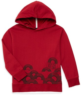 Three Likes Little Boy's & Boy's Graphic Cotton-Blend Hoodie