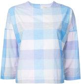 MAISON KITSUNÉ checked shirt - women - Cotton - 34