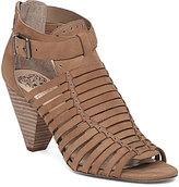 Vince Camuto Eisen Huarache Caged Ankle Strap Dress Sandals