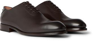 Ermenegildo Zegna Vienna Leather Oxford Shoes