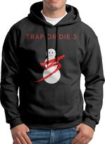 SAMMOI Trap Or Die 3 Men's Long Sleeve Hoodie S