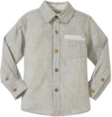 Appaman Johnnie Shirt (Toddler/Kid) - Grey - 6