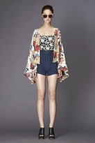 Winter Kate Roque Jacket in Pink Floral Print