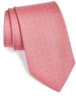 Salvatore Ferragamo Men's Gancini Print Silk Tie