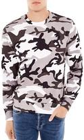 Sandro Warfare Camouflage Sweatshirt