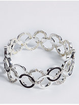 M&S Collection Enamel Rings Bracelet