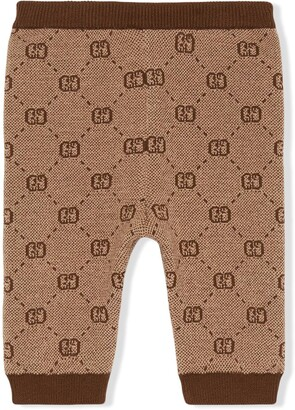 Gucci Kids GG knitted leggings