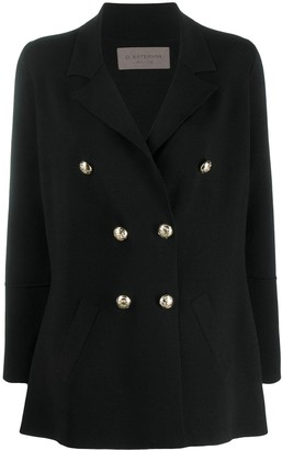 D-Exterior Double-Breasted Jacket
