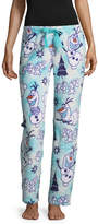 FROZEN Disney's Frozen Olaf Plush Pajama Pants-Juniors