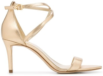 MICHAEL Michael Kors Metallic Sandals