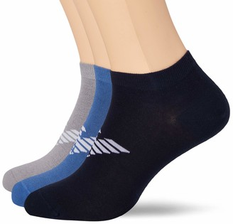Emporio Armani Men's Bold Logo Multipack In-shoe Socks Calf