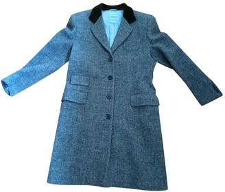 Piombo Grey Wool Coat for Women