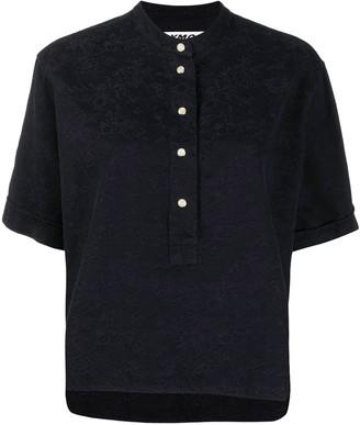 YMC Floral Jacquard Cotton Shirt