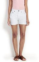 modern Women's Cuffed Jean Shorts-Light Wash Denim