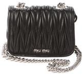 Miu Miu Mini Matelassé Leather Crossbody