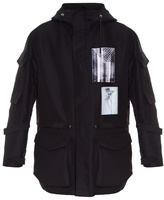Givenchy Badge-appliqué Hooded Parka