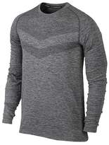 Nike Dri-FIT Knit Mens Running Long Sleeve Shirt / Top Size S