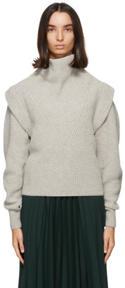Isabel Marant Grey Poppy Turtleneck