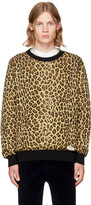 Wacko Maria Brown Leopard Sweater