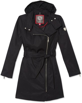 Vince Camuto Belted Rain Trench