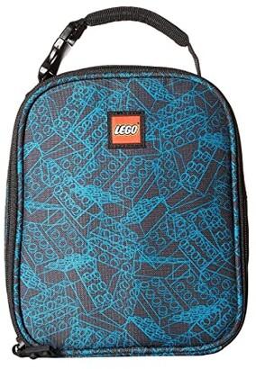 Lego Blueprint Lunch Bag (Black) Duffel Bags
