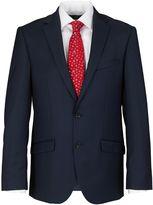 Paul Costelloe Slim Fit Navy Semi Plain Suit Jacket