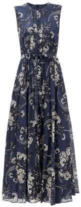 S Max Mara Golfo Dress - Navy Multi