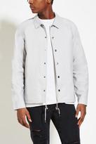 Forever 21 FOREVER 21+ Mens Drawstring-Hem Cotton Jacket