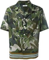 Valentino tropical print shirt - men - Cotton/Polyester/Viscose - 41