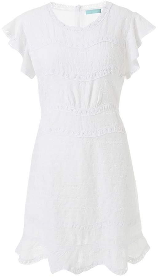 Melissa Odabash Meghan Textured Cotton Dress