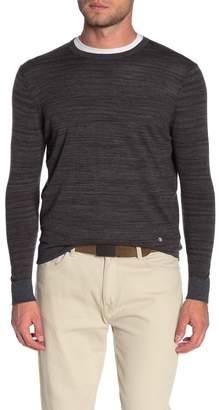 Raffi Space Dye Crew Neck Sweater
