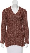 Dolce & Gabbana Rib Knit V-Neck Sweater