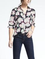 Banana Republic Dillon-Fit Floral Print Shirt