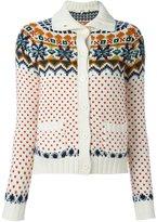 Vanessa Bruno patterned cardigan