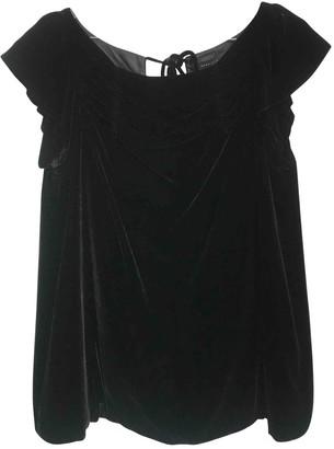 Marc by Marc Jacobs Black Velvet Top for Women