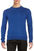 Black Brown 1826 Long-Sleeve Crewneck Sweater