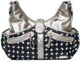 JJ Cole Swag Diaper Bag, Silver Drop (Discontinued by Manufacturer) by