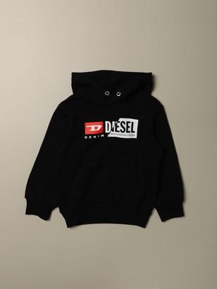 Diesel Sweatshirt In Cotton With Logo