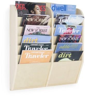 Guidecraft 12-Section Magazine Rack