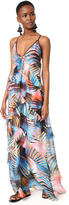Just Cavalli Palm Maxi Dress