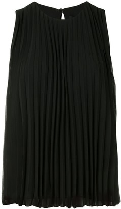 Paule Ka Pleated Vest Top